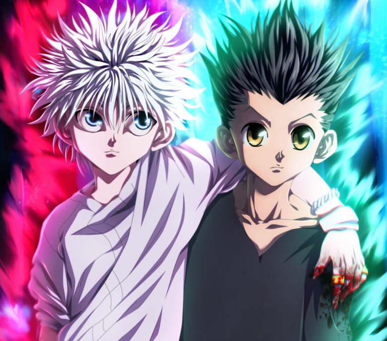 Anime Hunter x Hunter Gon css Killua Zoldyck