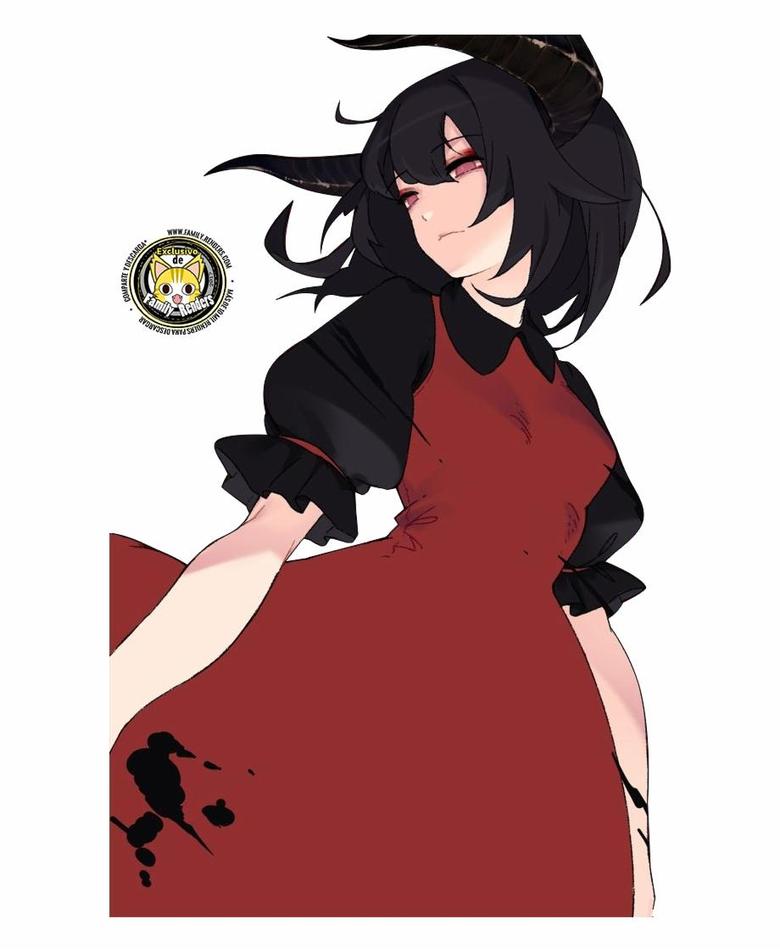 Anime Demon Girl Render Transparent Png For