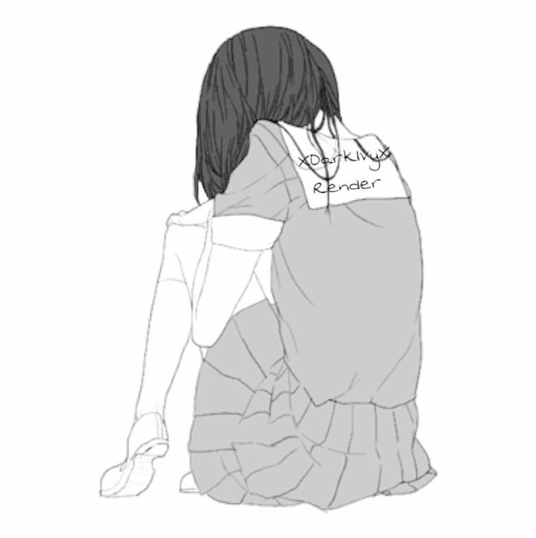 Broken Heart Sad Anime Girl