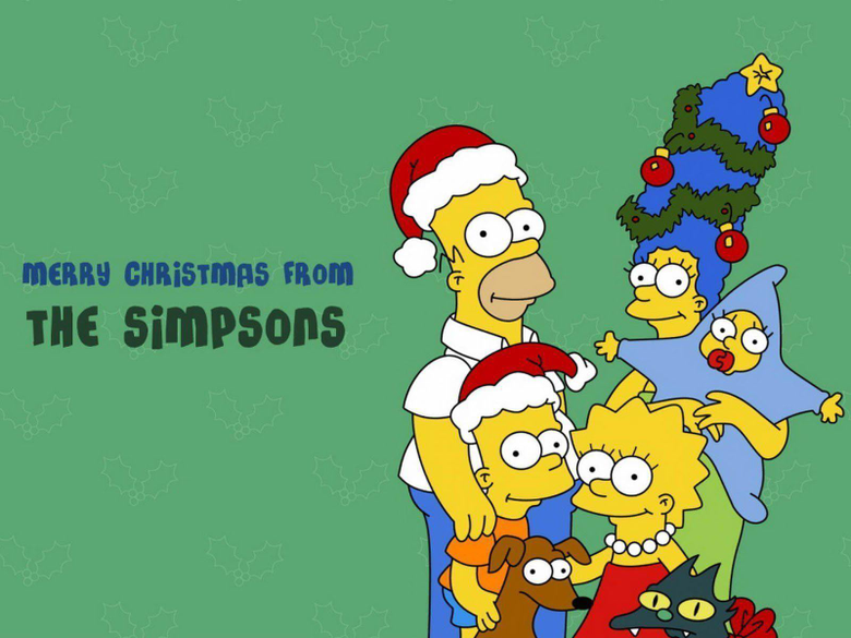 The Simpson Christmas Pictures and Wallpapers