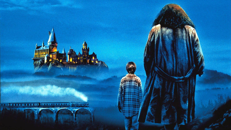 Harry Potter and Hagrid