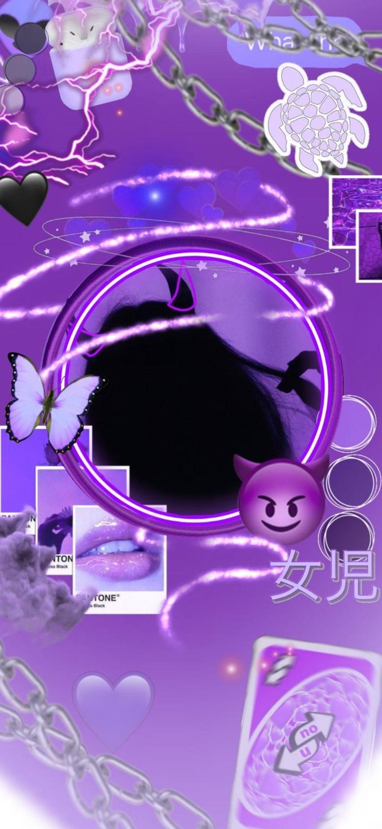 Aesthetic Purple Pfp