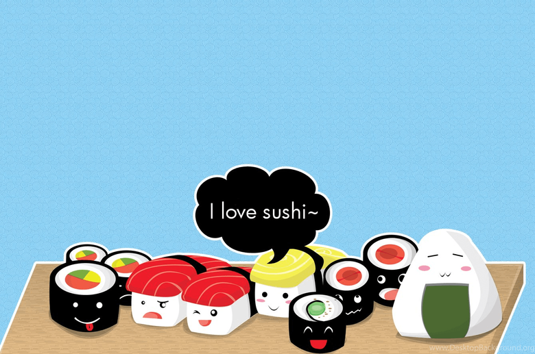 Kawaii Sushi Wallpapers