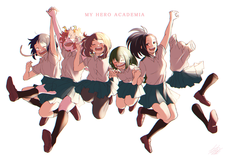 wallpapers from anime My Hero Academia with tags Momo