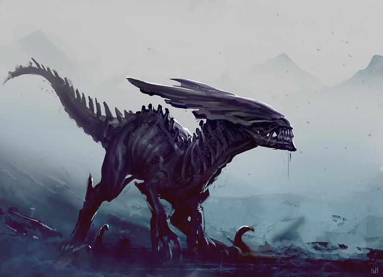 Raptor mixed w Alien