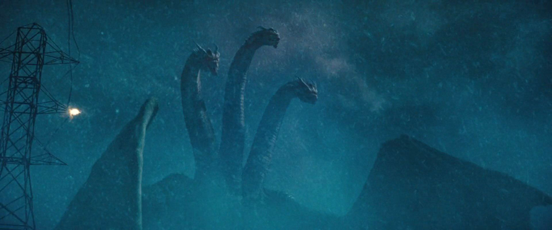 King Ghidorah accepts a fight