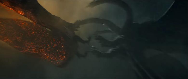 King Ghidorah vs Rodan