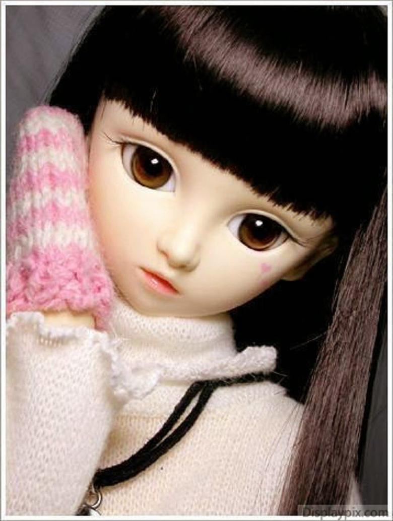Unique HD Wallpapers 4U Cute Barbie Doll Sad HD