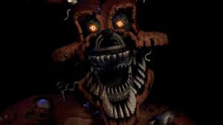 FNaf Nightmares Foxy Head Jump Scare