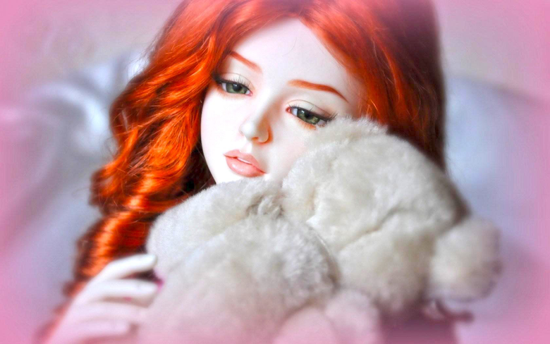 Barbie Doll With Teddy Bear