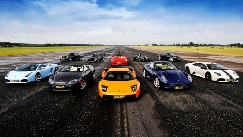 My dream collection of cars if I ever get that rich to afford them