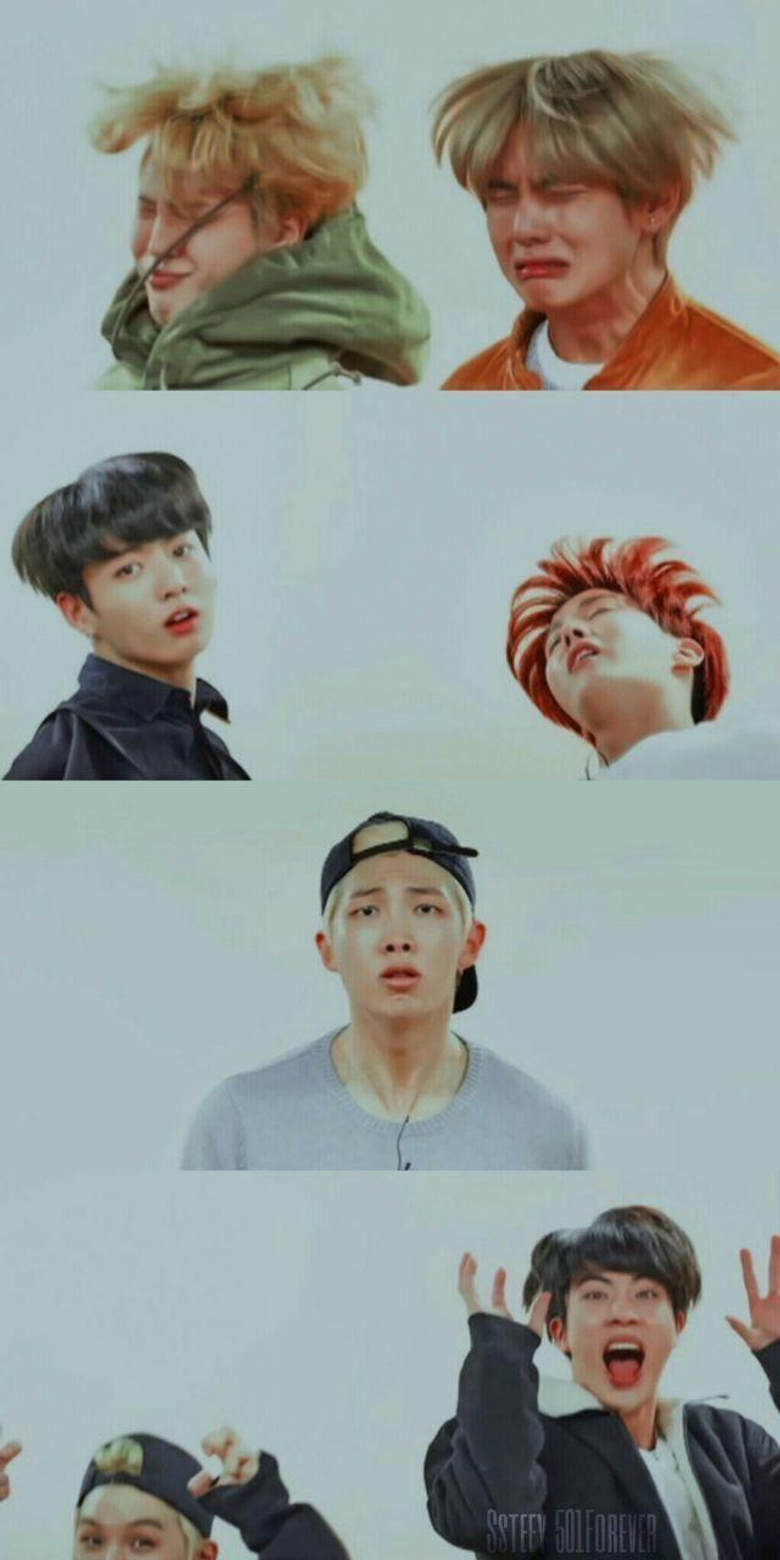 Funny BTS Wallpapers