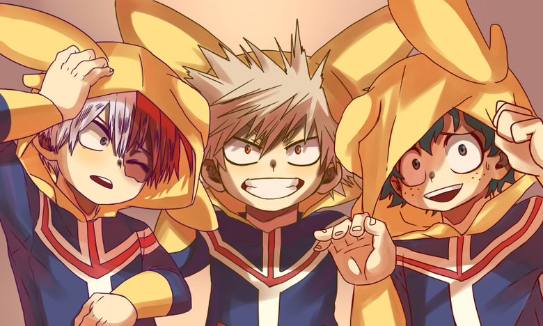 dressing like allmight