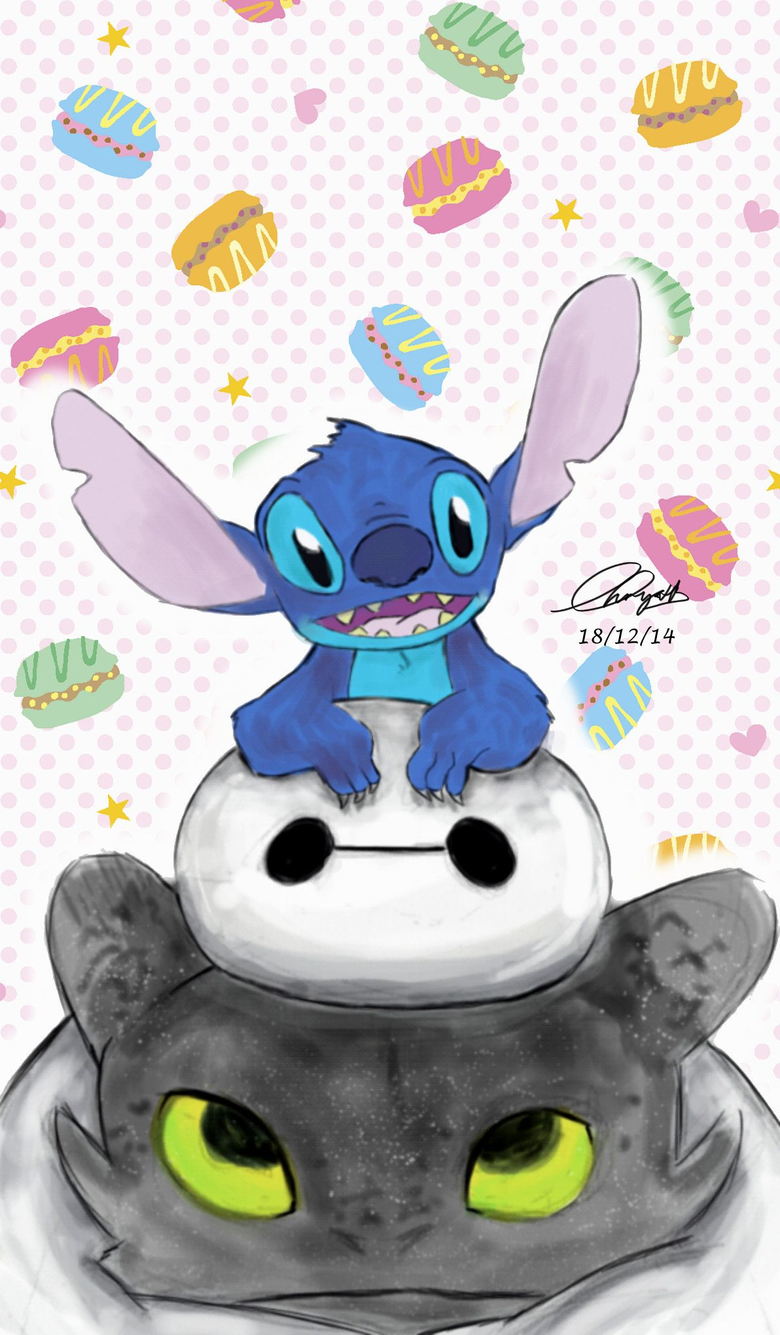 Toothless Stitch And Pikachu Wallpapers posted by Samantha Mercado