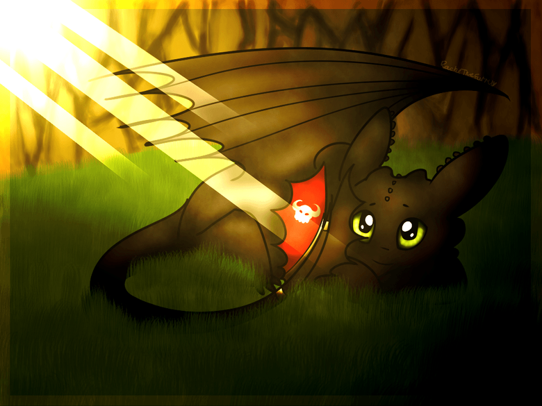 Alone Toothless Wallpapers by RachelTheFurry