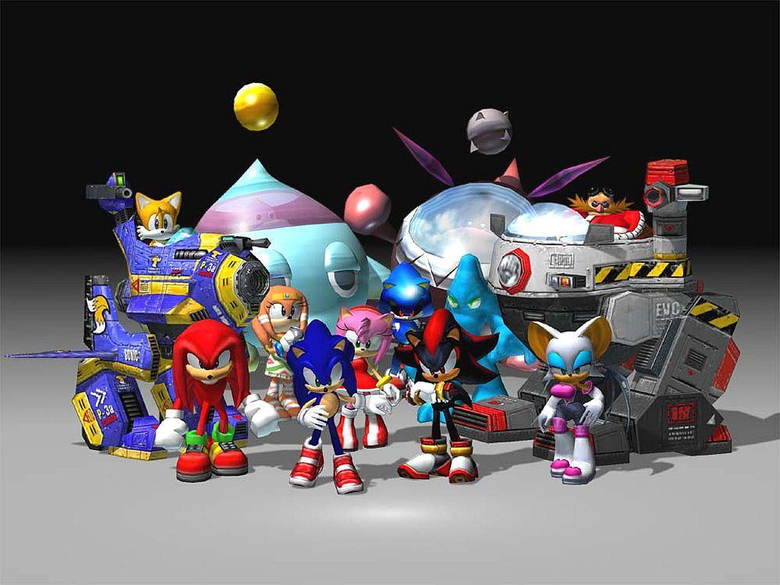 Sonic Adventure 2 Battle image Every character in Sonic Adventure 2