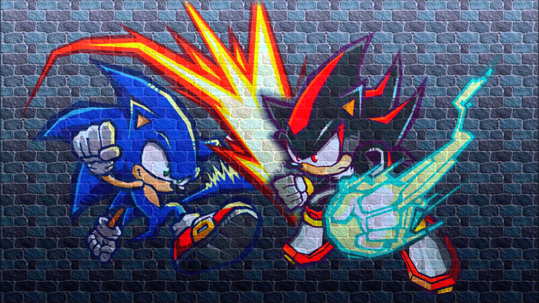 Sonic Adventure 2 Battle Sonic Vs Shadow Theme Remixed