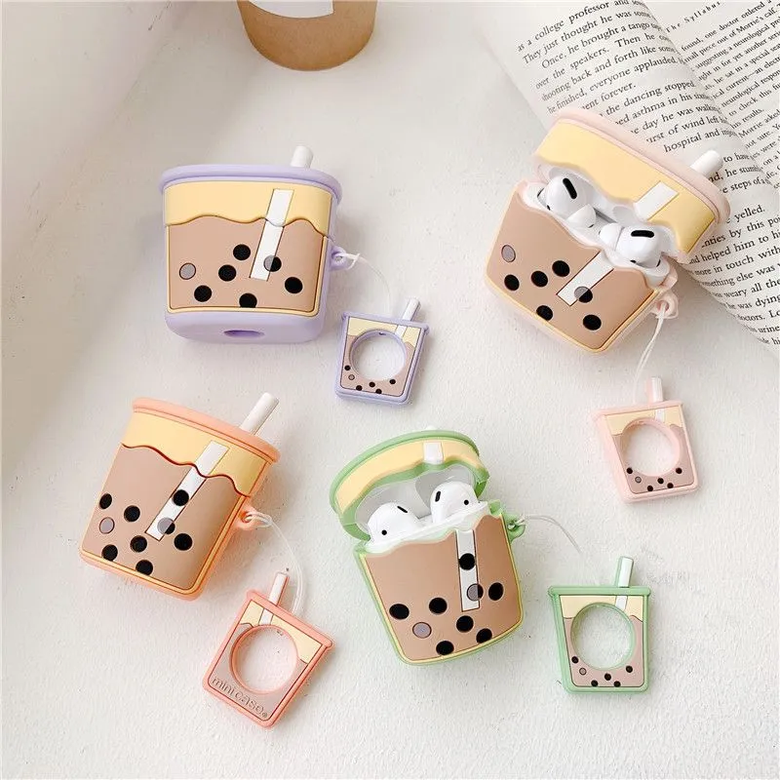 boba tea airpod cases UwU