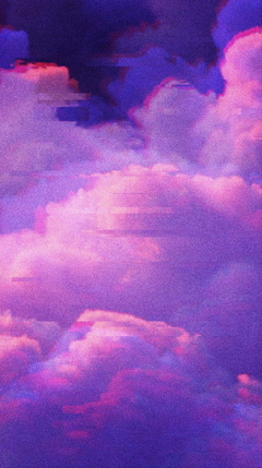 aesthetic glitch cloud backgrounds