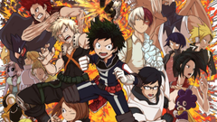My Hero Academia Student Heroes Wallpapers