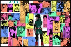 boku no hero academia wallpapers Archives