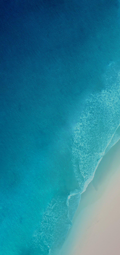 iOS 12 iPhone X Aqua blue Water ocean apple wallpaper iphone