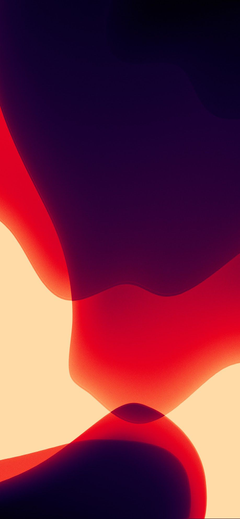 iOS 13 wallpapers in various colors for iPhone and iPad