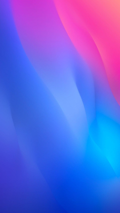 iOS 12 iPhone X blue pink clean simple abstract