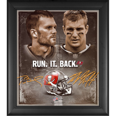 Tom Brady Rob Gronkowski Tampa Bay Buccaneers Framed 15