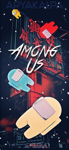 Among us mobile wallpapers