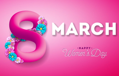 Wallpapers flowers happy pink background March 8 pink flowers
