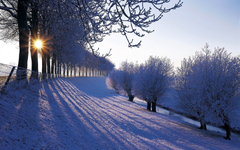 Country Winter Wallpapers for Desktop