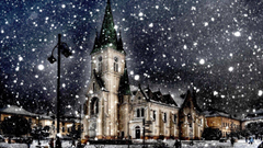 Snow City Winter Season HD Wallpapers Desktop Backgrounds