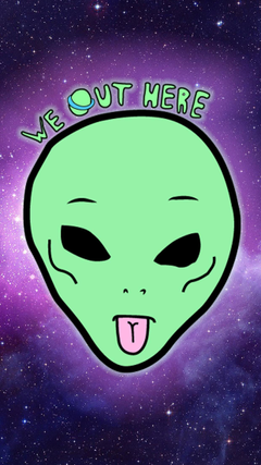 Cartoon Alien Wallpapers