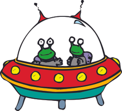 Cartoon Alien Pics clipart