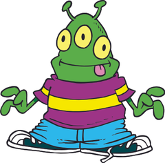 Cartoon Alien Image clipart