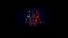 Darth Vader Minimal 4k HD Superheroes 4k Wallpapers Image