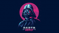 Darth Vader Minimal Wallpapers