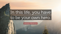 Jeanette Winterson Quote In this life quotefancy
