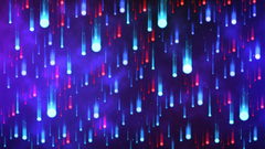 Desktop wallpapers neon art raindrops wallpapersmug
