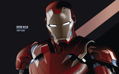 Tony Stark Iron Man Minimal 4K Wallpapers Wallpapers