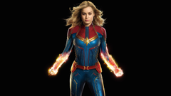 Captain Marvel Brie Larson 4k Ultra HD Wallpapers