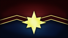 Captain Marvel Logo HD Superheroes 4k Wallpapers Image