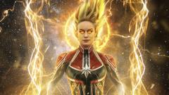 Brie Larson as Captain Marvel Wallpapers