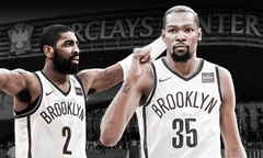 Little brother no more Kyrie Irving Kevin Durant are Brooklyn Nets