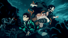 Tanjirou and Nezuko Anime Demon Slayer Kimetsu no Yaiba Wallpapers