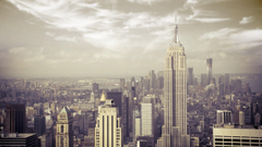 Empire state building manhattan new york city wallpapers