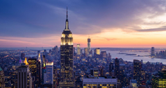 Most Adorable Empire State Building Manhattan Night View