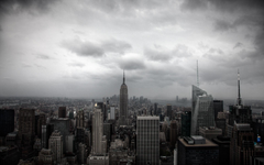 Empire State Building in New York City USA widescreen wallpapers