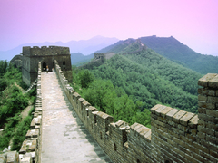 Great Wall of China Sunset Desktop Wallpapers Travel HD Wallpapers